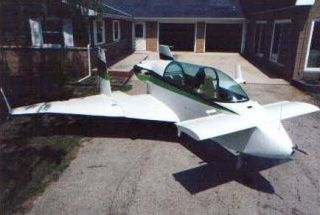 TheRutan VariViggenis anairplanedesigned byBurt Rutan. He named it after theSwedishfighter plane, theSaab 37 Viggen, which had partially inspired his design. The aircraft is a two-seat (tandem arrangement), wood and fiberglasscanardutilizing a 150hpLycoming O-320piston engine inpusher configuration. The prototype was designated Model 27, and the production version was Model 32.