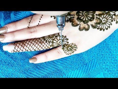 اجمل و اسهل نقش حناء يمكنكم مشاهدته رائع و بسيط Moroccan Henna Youtube Henna Hand Tattoo Henna Art Moroccan Henna