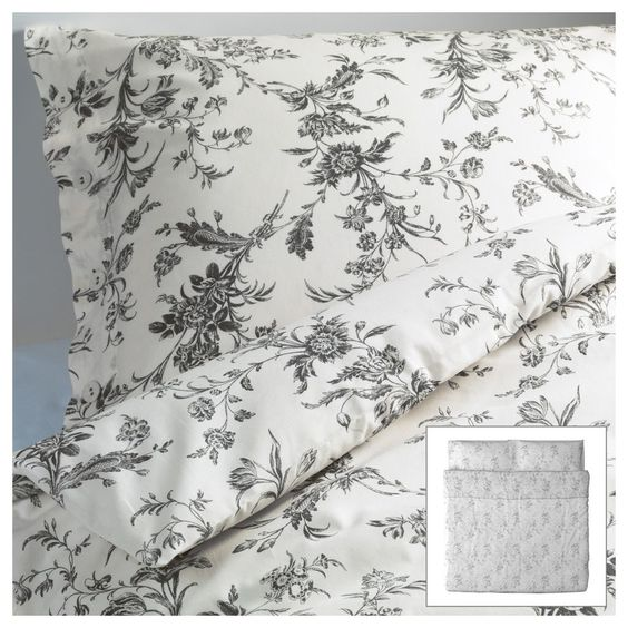 Ikea Alvine Kvist Duvet Cover French country Floral King Size Quilt New NIP #IKEA #FrenchCountry