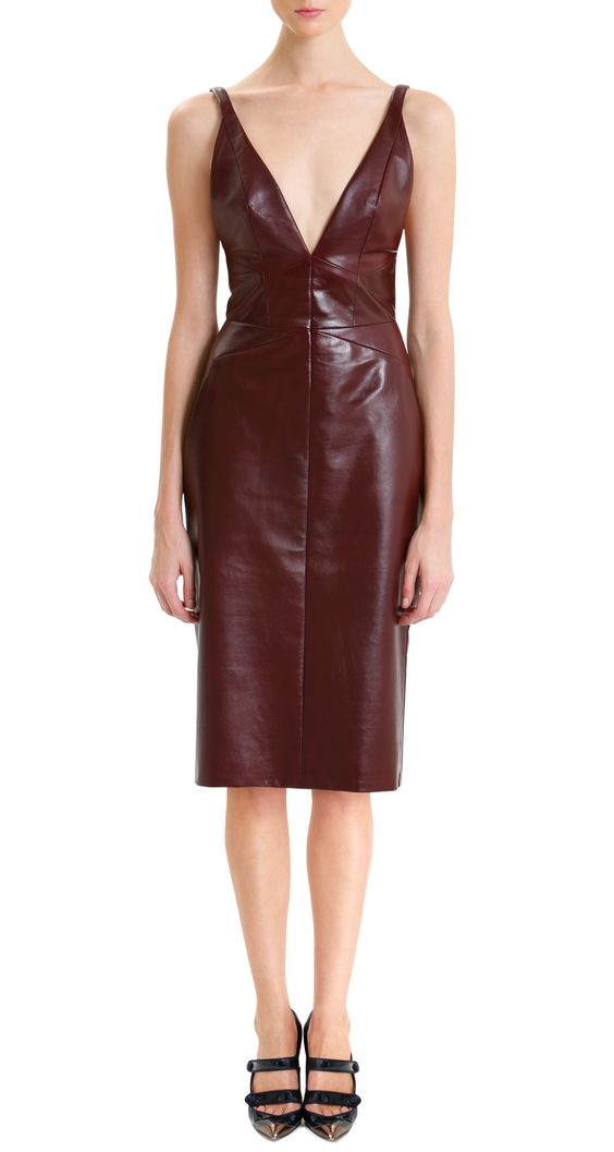 J.Mendel leather dress. Stunning!