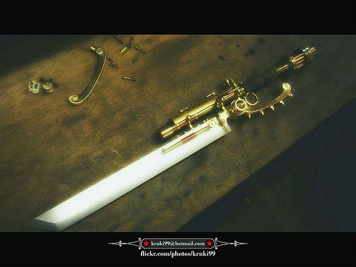 Steampunk Gun-Knife Gife 02 001A