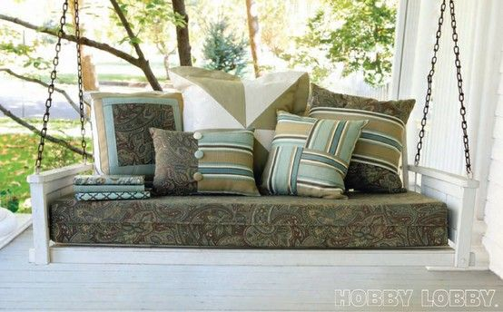 Spring is in the air which can only mean one thing-- porch sitting! Check out our water resistant fabric and update your outdoor patio today!