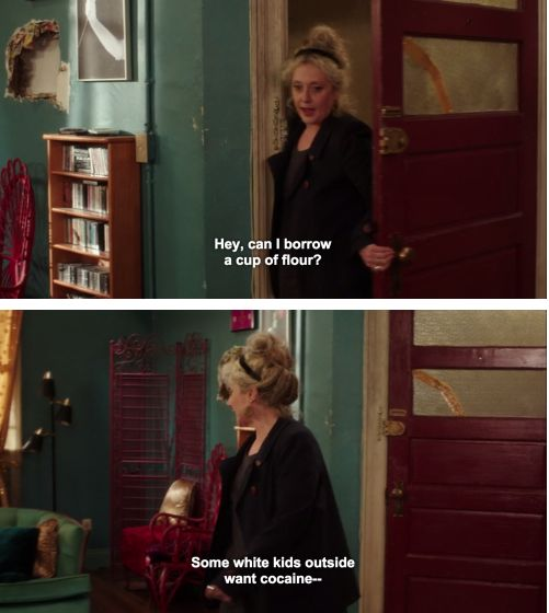 "Lillian is the perfect landlord and role model to children. | 21 Reasons ""Unbreakable Kimmy Schmidt"" Is The Best Comedy Of 2015"