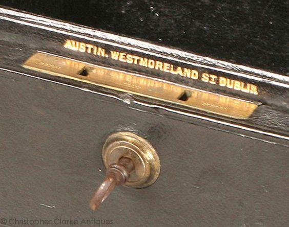 George Austin, 39 Westmoreland Street, Dublin from 1861 having ...