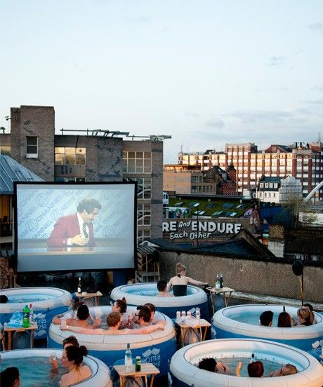 Open Air Cinemas In London — Outdoor Film Screenings: