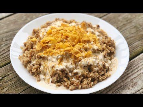 معصوب بالقشطة بطريقة سهله وسريعة Youtube Food Arabic Food Recipes
