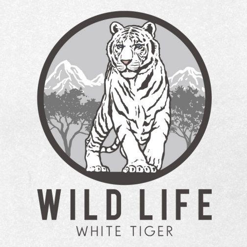 White Tiger Drawing Logo Ai Illustrator File Us 5 00 Each Ai Png File Tiger Drawing White Tiger Drawings