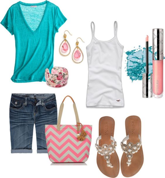 Summer outfits, created by theresa99 on Polyvore