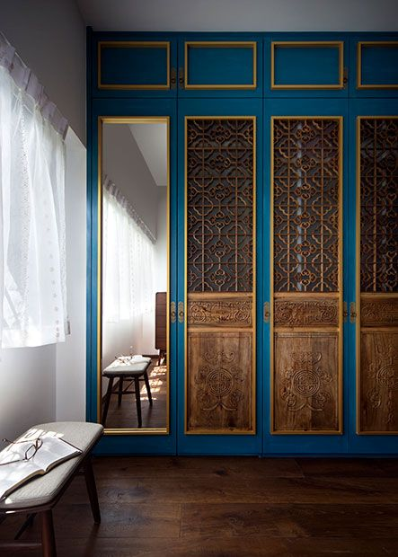 4 Bold And Beautiful Peranakan Inspired Homes In Singapore Interior Design House Interior Decor Home