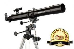 Celestron PowerSeeker 80EQ Refractor Telescope Package - Telescope 21048 w/ Motor Drive 93514  21048-OP  w/ Free S&H