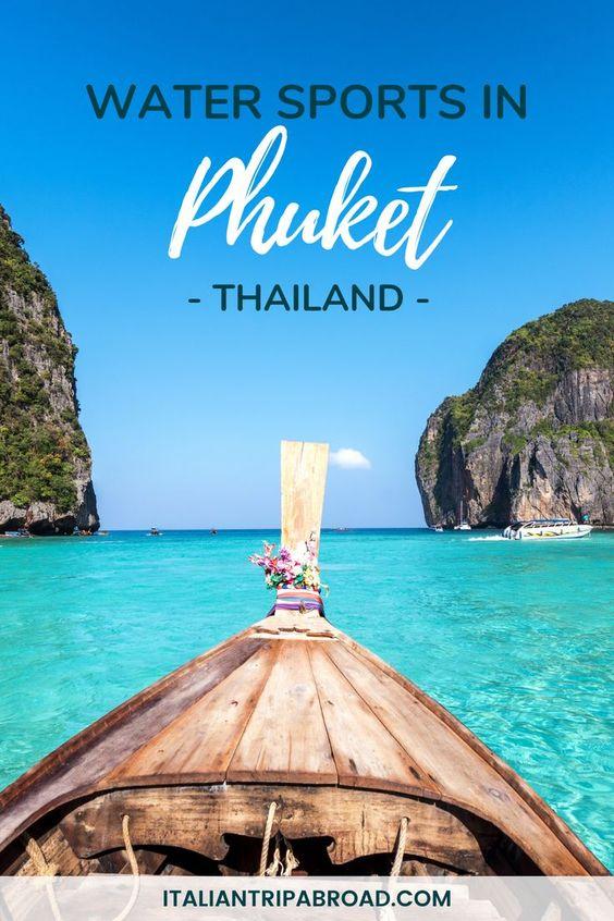 Water spots in Phuket Thailand