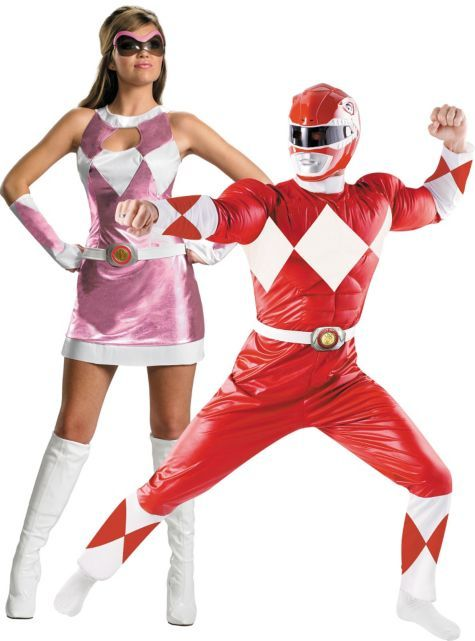 Power Rangers Couples Costumes - Party City