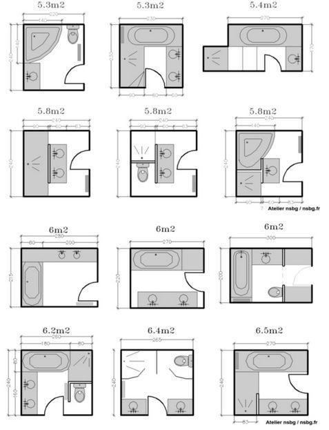 Amenagement Petite Salle De Bain 20 Astuces Deco Stylees Avec Images Plan Salle De Bain Plans Petite Salle De Bain Salle D Eau