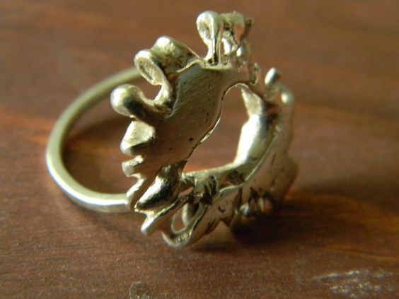 Sterling Silver Free Form Ring