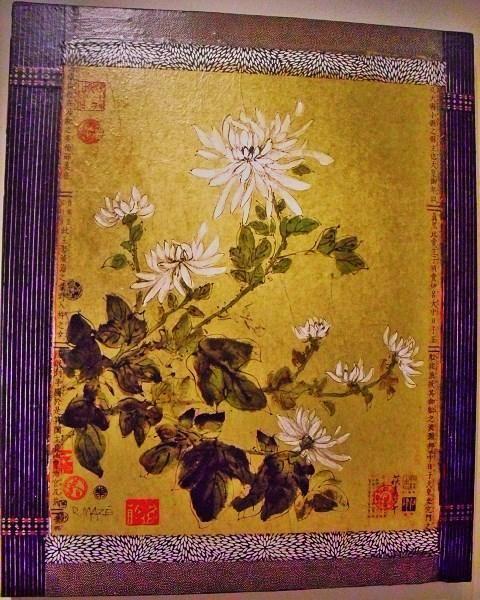 White Chrysanthemums By Ruthann Maze At Caribou Denver