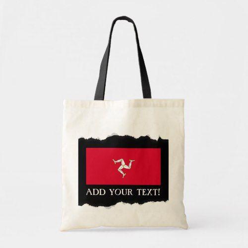 Isle Of Man Flag Tote Bag Zazzle Com Tote Bag Tote Bags