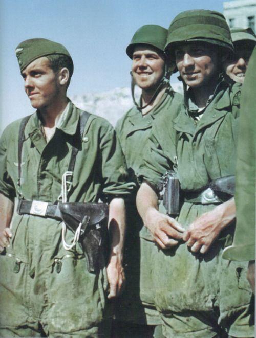 Fallschirmjäger in Creta