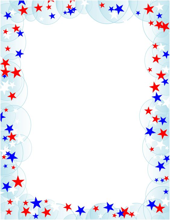 ... png | Free Borders and Clip Art | Downloadable Free Stars Borders More