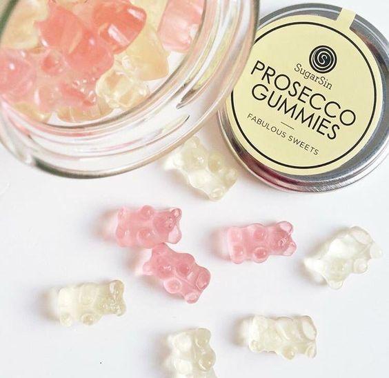 Prosecco gummies: