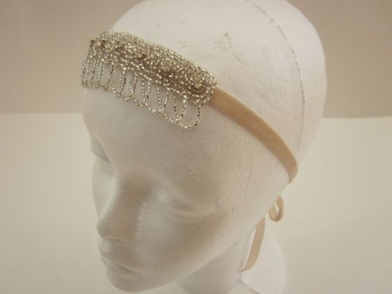 ... flapper hair gatsby costume flapper headpiece halloween costumes