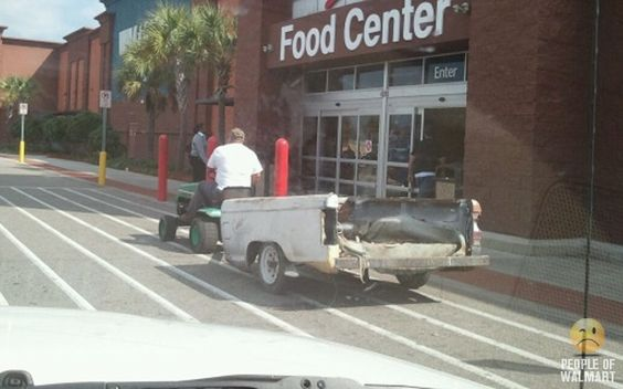 HERE'S A REDNECK PICKUP TRUCK AT WALMART.....FOLLOW THIS BOARD FOR CRAZY AND WILD PICS OF GOINGS ON AND THE WIERDO'S AT WALMART ... ... ..AC