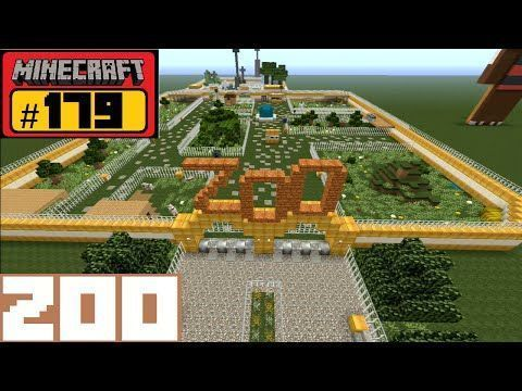 Minecraft Let S Build 179 Zoo Min With Images Minecraft