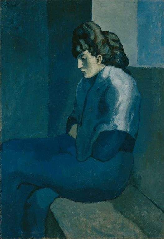 picasso blue period paintings - Google Search