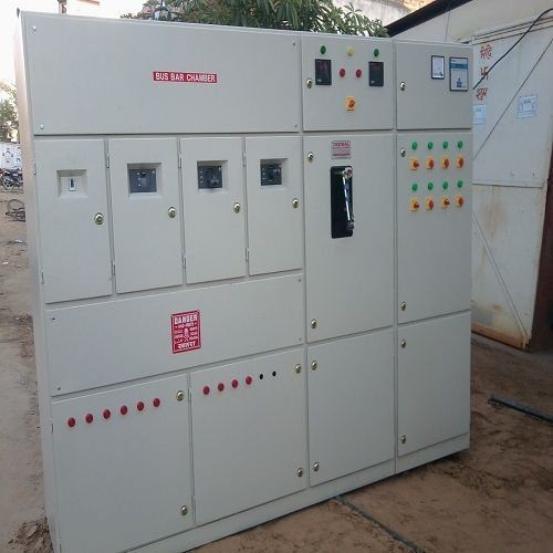 Distribution Panel With Power Factor Vasudev Power Solution