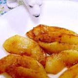 オリゴ糖シロップで☆りんごのキャラメリゼ