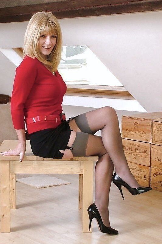 Old Big In Stockings