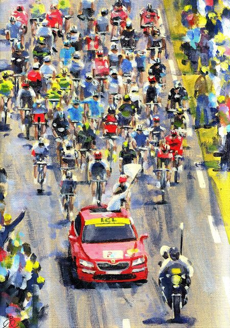 PAINTING LE TOUR: TDF 2016 Cav 1!