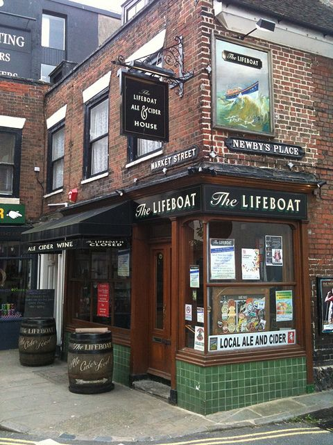 The Lifeboat, Margate Old Town by linocutboy, via Flickr