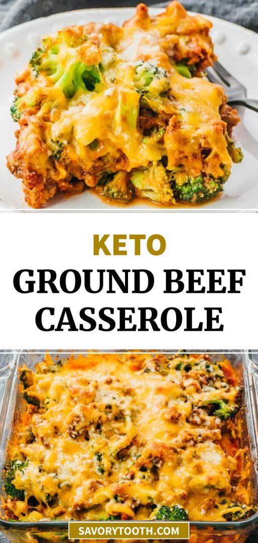 This Is A Delicious Keto Casserole Dinner With Ground Beef Broccoli And Tomato Sauce Kind Of Tast In 2020 Ground Beef Casserole Ground Beef And Broccoli Ground Beef