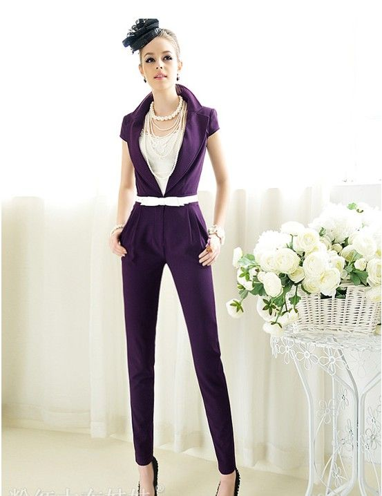 women's jumpsuits dressy | ... dress women Cocktail Party trousers ...