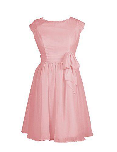 Dresstells Short Chiffon Bridesmaid Dress Homecoming Dress Cocktail Dress Blush Size 2 Dresstells http://www.amazon.com/dp/B00OWOWI50/ref=cm_sw_r_pi_dp_4lpxub0CTS3X7