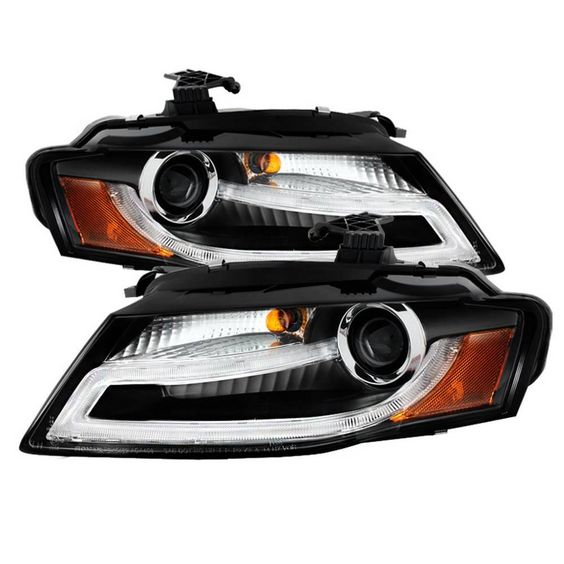 Spyder Auto Audi A4 09 12 Projector Headlights Xenon Hid Model