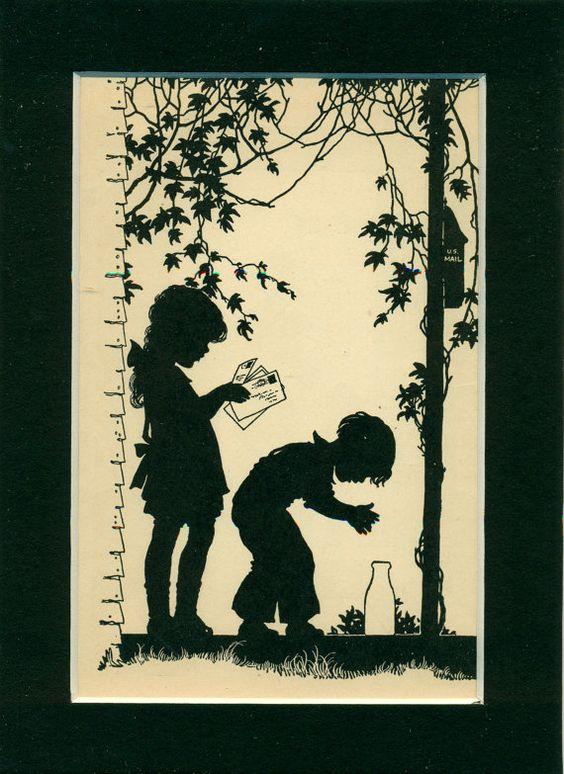 Vintage 1935 Children's Book Illustration by suesancollectibles  $14.50