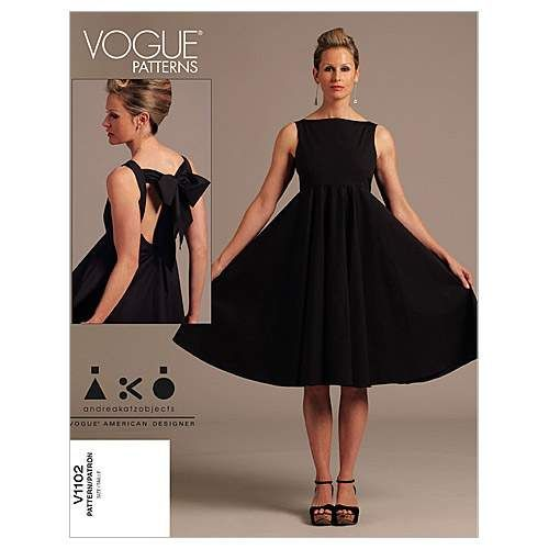 Mccall Pattern V1102 Ee (14-16--Vogue Pattern
