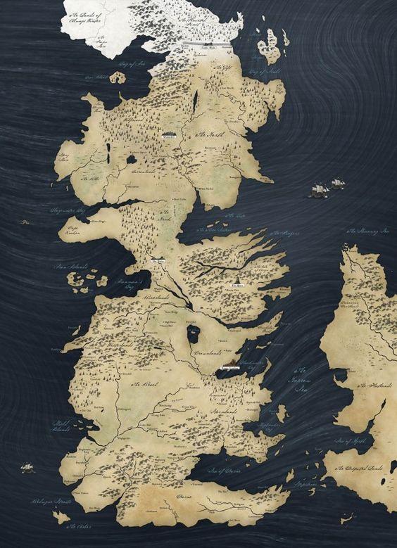 Game of Thrones – La carte du monde