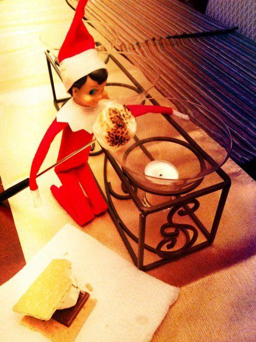@Natalie Moran...super cute ideas!   Top 75 Elf On the Shelf Ideas [In Pictures]