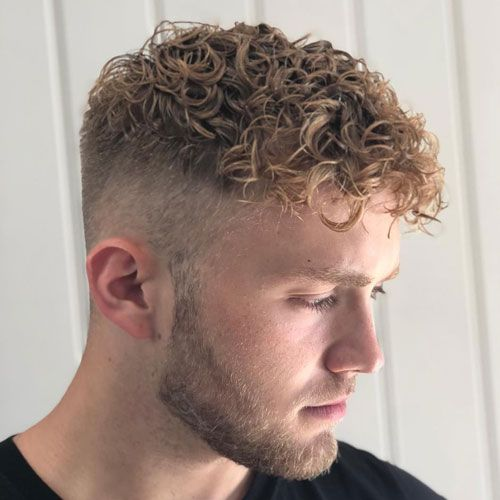 40 Best Perm Hairstyles For Men 2020 Styles In 2020 Short Permed Hair Curly Hair Fade Permed Hairstyles