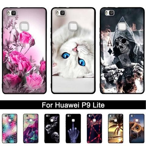 TPU Case For Huawei P9 Lite Case Back Phone Cover for Huawei G9 ...