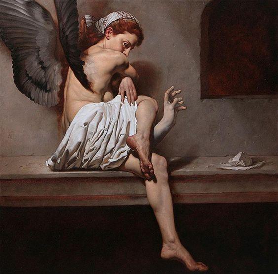 Roberto Ferri | Inspired Painting