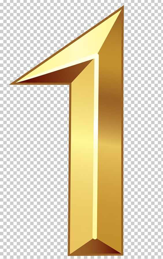 Gold Number 1 One 1 Number Png Transparent Clipart Image And Psd File For Free Download Gold Number Gold Clipart Prints For Sale