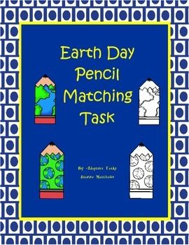 FREE Earth Day matching task