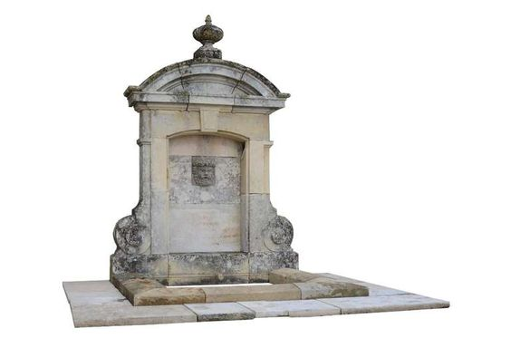 Wall Fountain Maded of Reclaimed Architectural Elements at 1stdibs