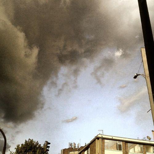 #nube de #lluvia sobre #Bogotá #Bogota #Colombia #rain #cloud #Regen #Wolke #Kolumbien