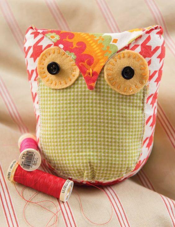 Blog Hop: Pretty Birds Owl Pattern