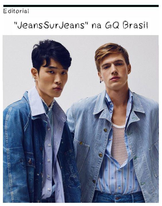 "Editorial: ""JeansSurJeans"" na GQ Brasil"