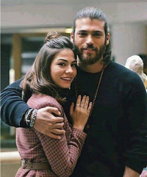 Canem Erkenci Kus Awsome Photos In 2021 Romantic Photos Sanem Photo